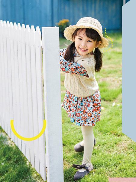 小资范童装品牌2020春夏新款纯色针织马甲