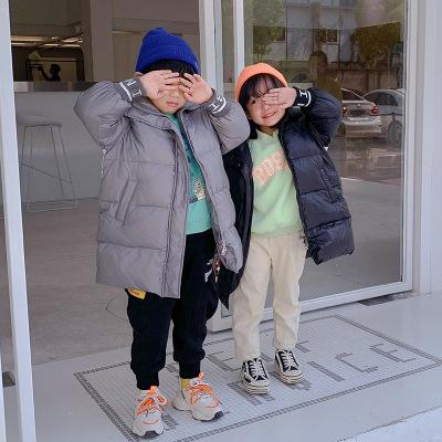 儿童长款羽绒服韩版加厚女童外套2019冬装长款宝宝羽绒服