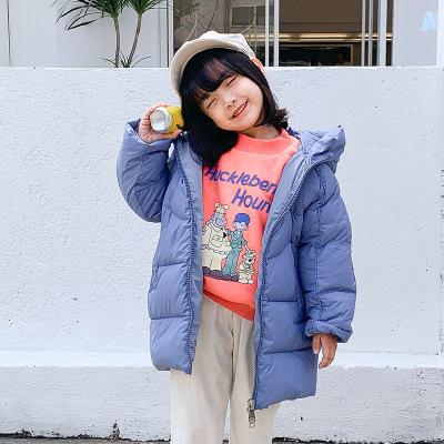 2019新款秋冬儿童童外套 洋气小童装女童加绒加厚连帽羊羔毛外套