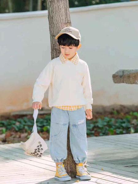 木子MUUZI童装品牌2020春夏新款纯色针织长袖上衣
