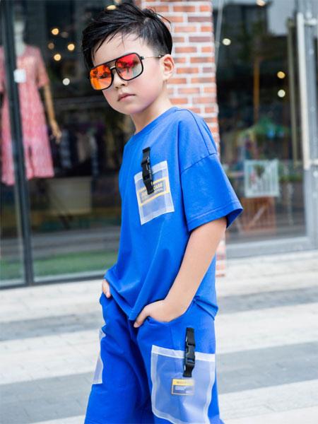 BennyJenny童装品牌2020春夏新款纯色图案短袖上衣