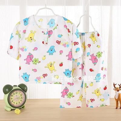 靓逗童装品牌2020春夏新款儿童加绒内衣套装加厚保暖宝宝内衣裤套装韩版家居服