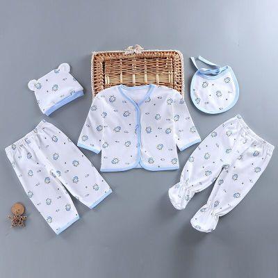 靓逗童装品牌2020春夏女宝宝罩衣婴儿反穿衣男儿童夹棉加厚吃饭衣纯棉衣围兜护衣