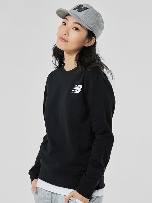 NewBalance童装品牌2020秋冬新款经典小标卫衣