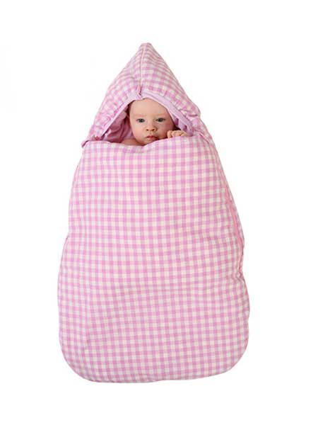 龙之涵童装品牌2020春夏新生婴儿棉花胆抱被