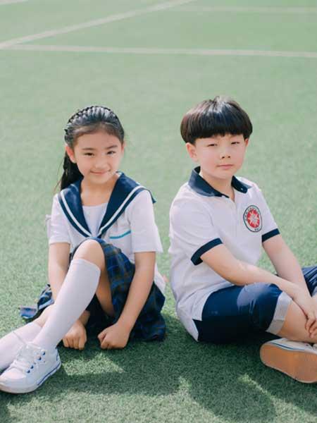 蓝鸟童装品牌2020春夏新款定制校服系列