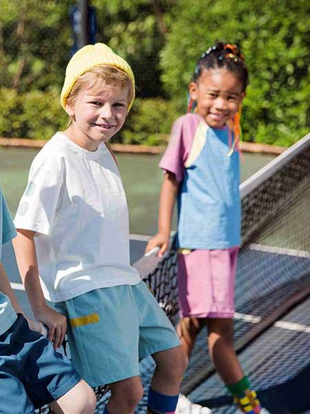 Babe Buddie宝贝巴迪童装品牌2020春夏新款纯色简洁儿童短袖上衣
