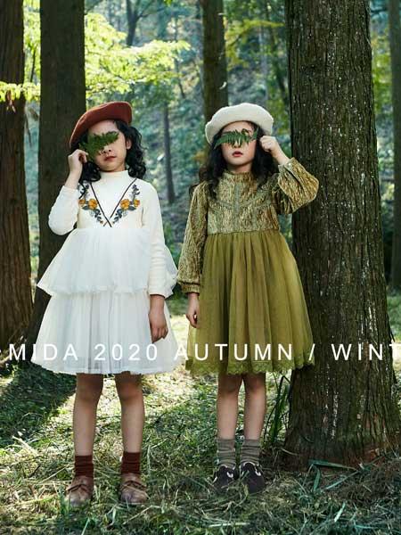 咪哒MIDA童装品牌  走向自然的暖色调,简约时尚