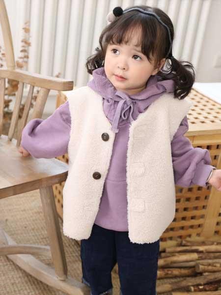 BevaBela贝瓦贝拉童装品牌2020春羊羔毛外套