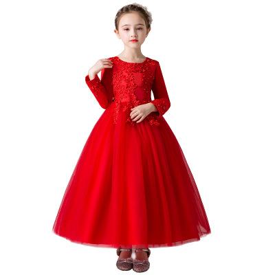 德夫阿可童装品牌2020春夏韩版新款儿童生日礼服花童婚纱连衣裙子