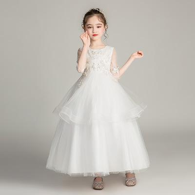德夫阿可童装品牌2020春夏蓬蓬公主裙花童装中大童主持人服演出服