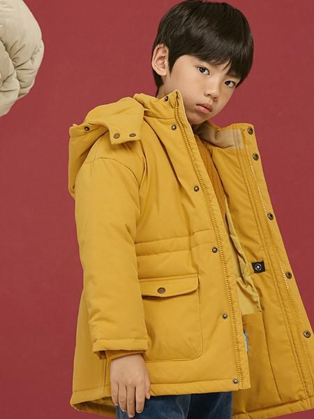 AllBlu幼岚童装品牌2020秋冬暖黄羽绒服