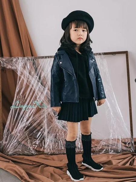 玲珑童装品牌2020秋冬个性皮夹克