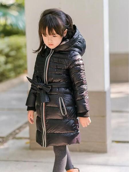 玲珑童装品牌2020秋冬时尚保暖羽绒服