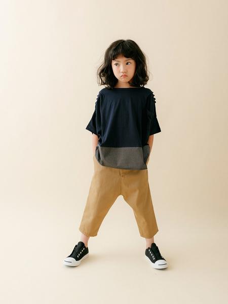 Nunuforme童装品牌2020春夏棉麻短袖