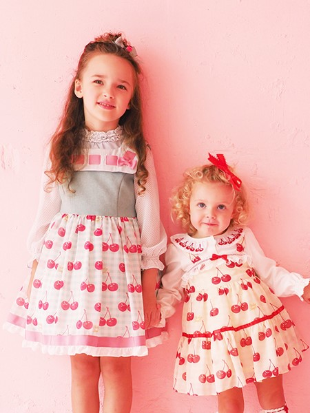 Shirley Temple童装品牌2020春夏可爱草莓裙