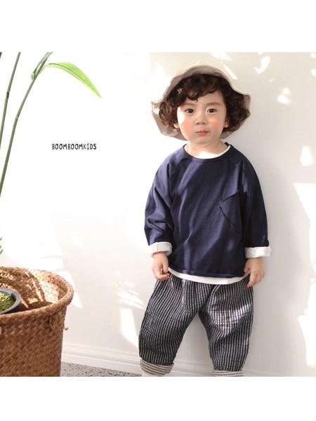 佐之恒服装童装品牌2020秋冬纯色卫衣