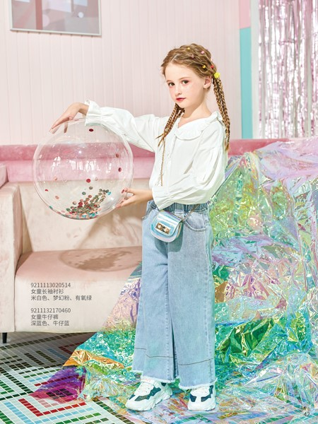 卡儿菲特童装品牌2020春夏娃娃衫上衣