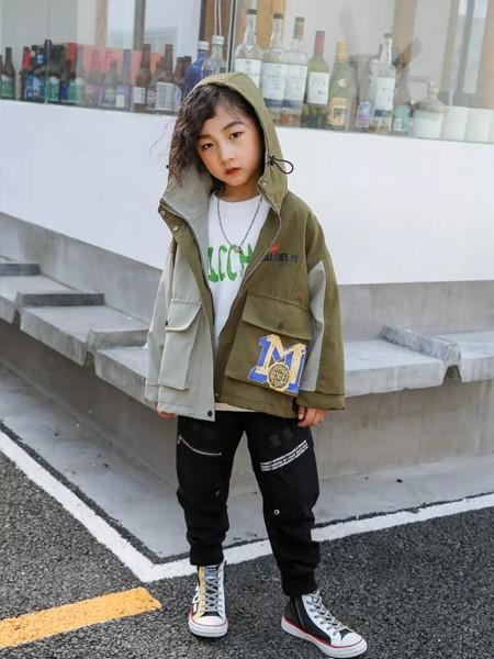艾克米迪童装品牌2019秋冬宽松保暖夹克