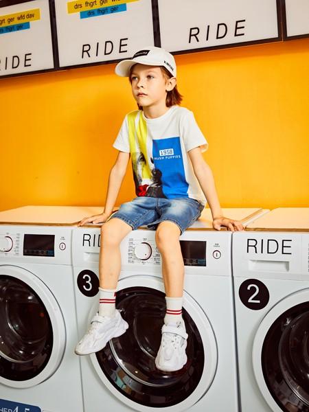 暇步士童装品牌2020春夏纯棉T恤