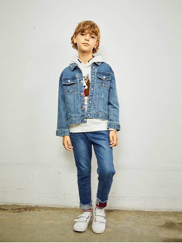 暇步士童装品牌2020春夏休闲夹克衫