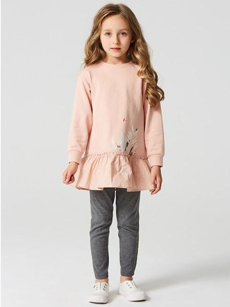 蜜糖宝贝 Mittit Baby童装品牌2020春夏时尚圆领卫衣