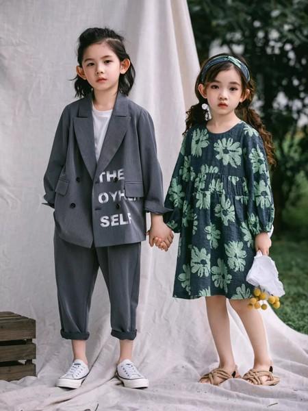 韩米娜风尚童装品牌2020春夏气质西装
