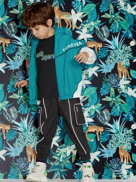 MQD童装品牌2020春夏森系男童棒球服
