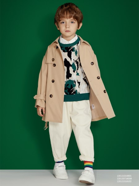 MQD童装品牌2020春夏帅气小风衣