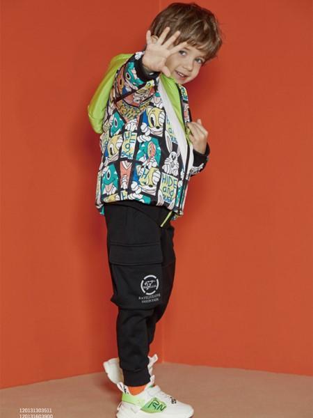 MQD童装品牌2020春夏涂鸦嘻哈外套