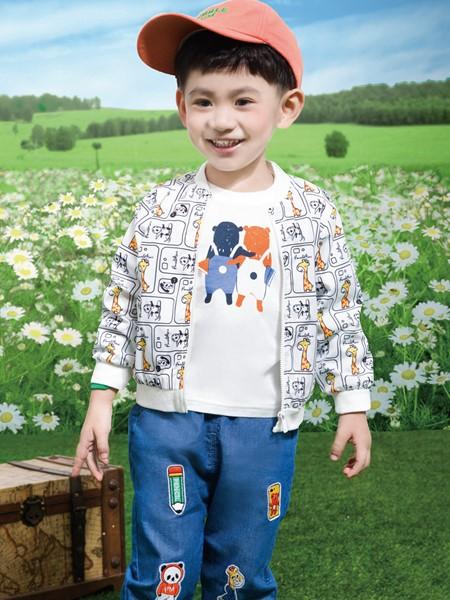 铅笔俱乐部童装品牌2020春夏涂鸦外套