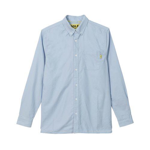 Golf Wang童装品牌2020春夏高尔夫长袖长牛津布上衣