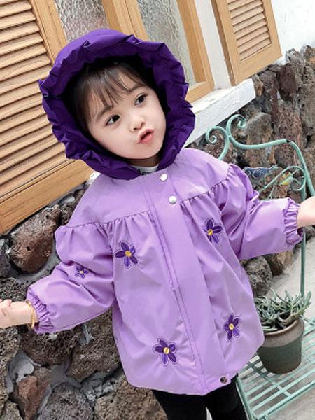儿童秋冬外套2019新款宝宝羽绒棉衣女童棉服可爱婴儿棉衣童装初阳