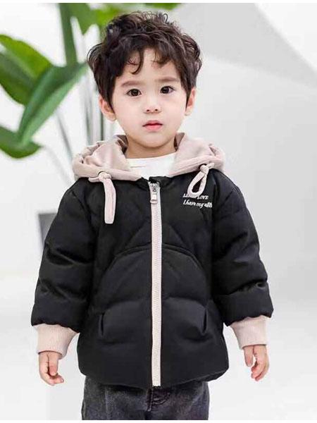 恩腾童装品牌2019 秋冬新款时尚潮流童装舒适保暖可爱儿童修身外套