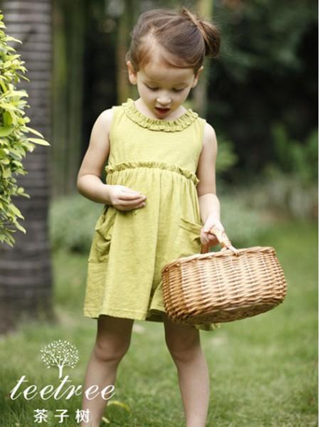 乔多米童装品牌2020春夏新款纯色无袖连衣裙