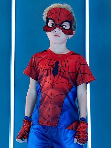梦幻派对童装品牌2020春夏新款蜘蛛侠cos服装