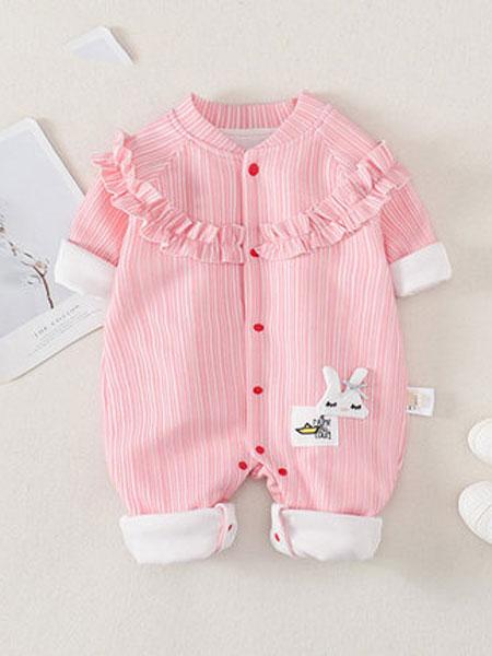 爱尼迪童装品牌2020春夏新款婴儿连体衣