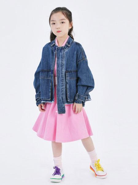 Sun Tomorrow尚T童装品牌2020春夏新款纯色气质牛仔外套