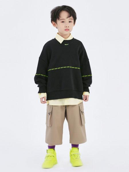 Sun Tomorrow尚T童装品牌2020春夏新款纯色印字气质卫衣