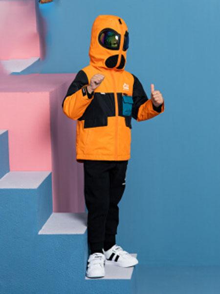 安踏(ANTA)官方旗舰店儿童童装男小童2020春季新品眼镜款摇粒外套