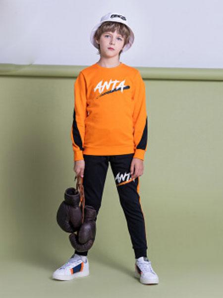 安踏(ANTA)官方旗舰店 儿童童装男童套装中大童短袖透气运动针织夏季新款