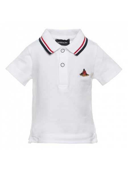Monnalisa龙8品牌2020春夏新款圆领T恤
