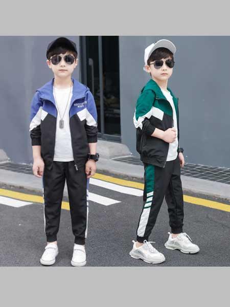 酷尔童年童装品牌2020春夏新款运动服套装