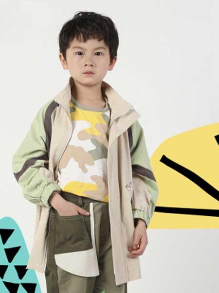 deermode童装品牌2020春夏新款工装外套