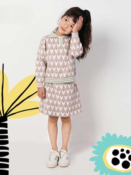 deermode童装品牌2020春夏新款儿童女针织裙韩版时尚两件套