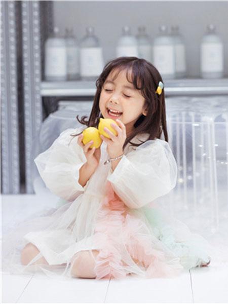 花田彩童装品牌2020春夏蕾丝公主裙