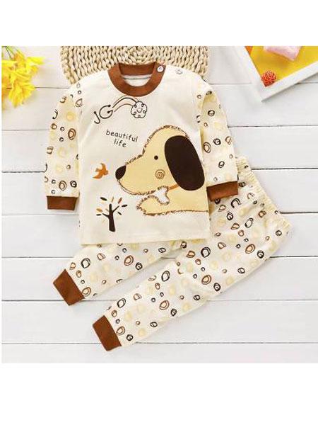 新爆品儿童秋衣秋季新款套装 纯棉儿童睡衣多种款式