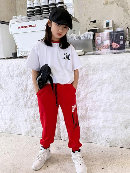 安墨Ammo龙8品牌2020春夏新款纯色气质圆领T恤