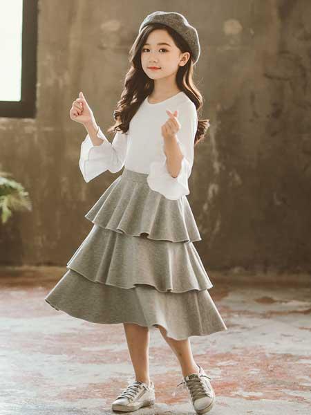 七巧童年童装品牌2020春夏新款韩版时尚潮衣春秋季时髦两件套童装