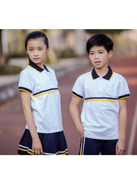 法诗顿童装品牌2020春夏纯棉运动类校服